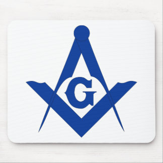Masonic Square and Compass Mouse Pads