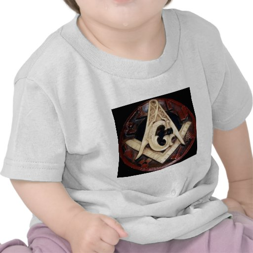 Masonic Square and Compass working tools Tshirt