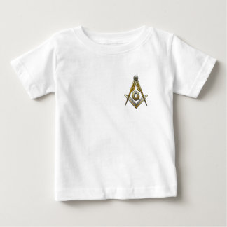 Masonic Square and Compasses Baby T-Shirt
