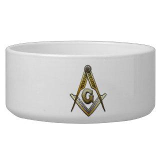 Masonic Square and Compasses Bowl