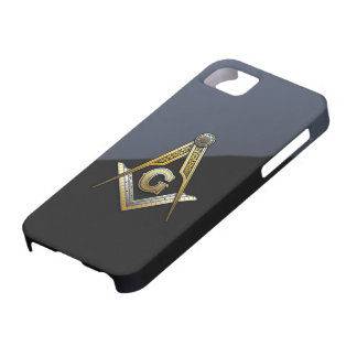 Masonic Square and Compasses iPhone 5 Case