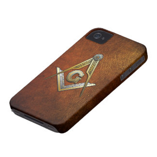 Masonic Square and Compasses iPhone 4 Cover