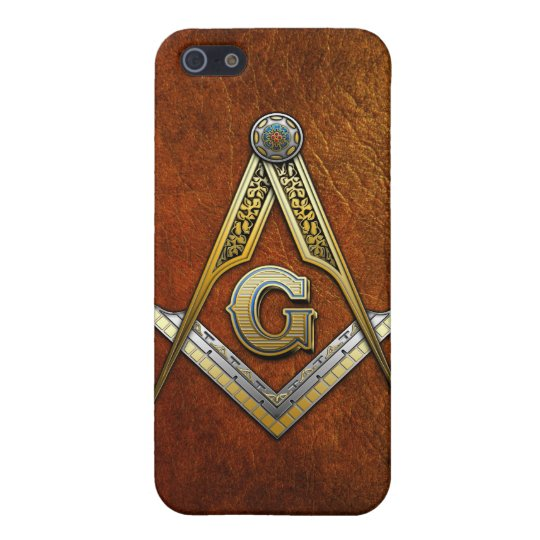 Masonic Square and Compasses iPhone SE/5/5s Case