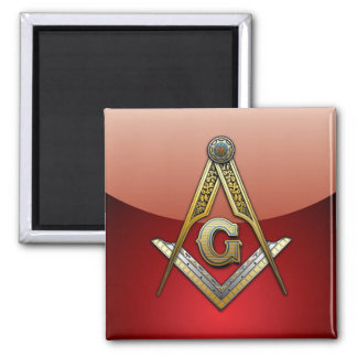 Masonic Square and Compasses Magnets