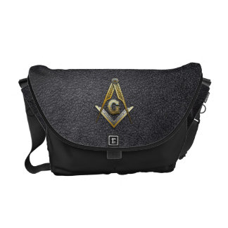 Masonic Square and Compasses Courier Bags