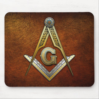 Masonic Square and Compasses Mousepads