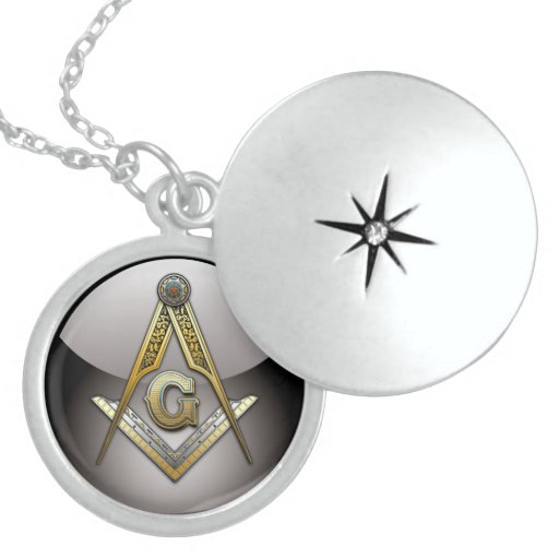 Masonic Square and Compasses Necklaces