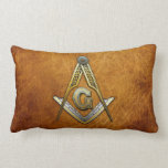 Masonic Square and Compasses Throw Pillows