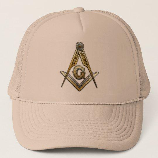 Masonic Square and Compasses Trucker Hat