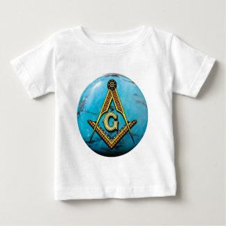 Masonic Square & Compass Turquoise T-shirts
