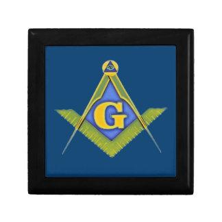 Masonic symbol jewelry box