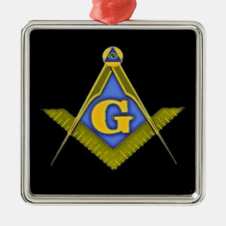 Masonic symbol metal ornament