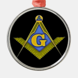 Masonic symbol metal ornament