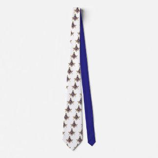 Masonic symbol tie