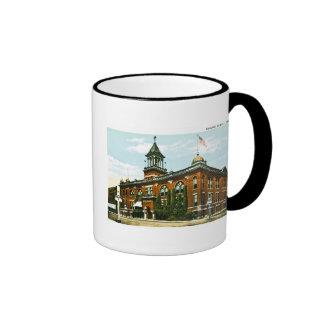 Masonic Temple, Fargo, North Dakota Ringer Mug