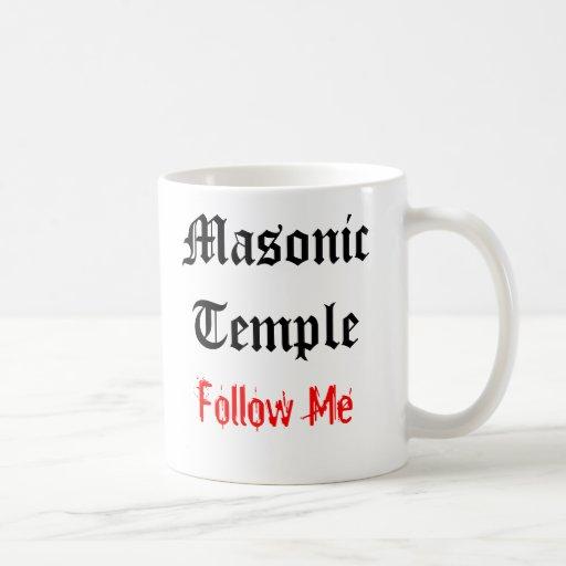 Masonic Temple Mug #1