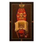 Masonic Tracing Board - Master Mason 2 Posters