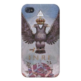 Masonic Twin Eagles iPhone 4 Case