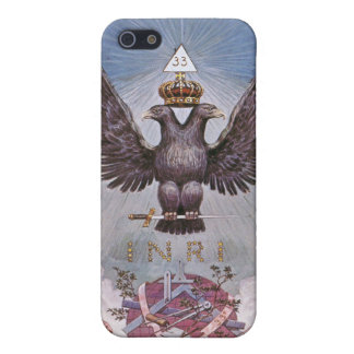Masonic Twin Eagles iPhone SE/5/5s Cover