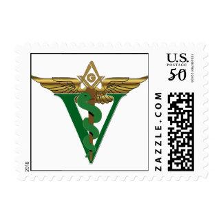 Masonic Veterinarian Postage