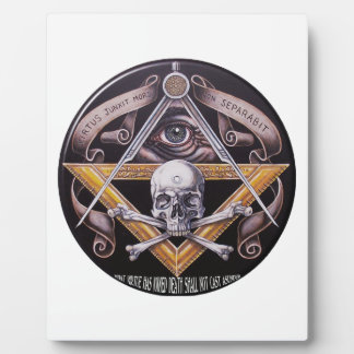 Masonic Virtue Plaque