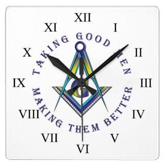 Masonic Wall Clock