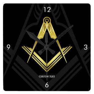 Masonic Wall Clocks | Unique Freemason Gifts