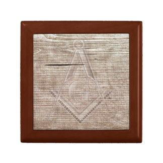 Masonic Woody Trinket Boxes