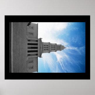 Masonic Ziggurat Poster