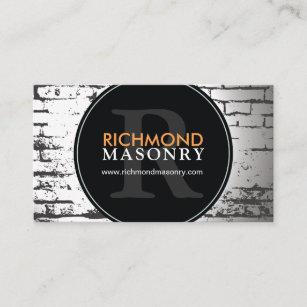 Masonry business cards templates zazzle masonry business card colourmoves