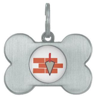 Masonry Logo Pet Tag