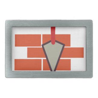 Masonry Logo Rectangular Belt Buckle