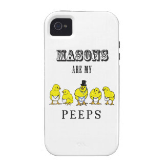 Masons are my Peeps iPhone 4 Case