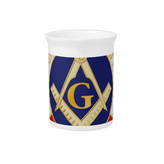 Masons Brotherhood Drink Pitcher