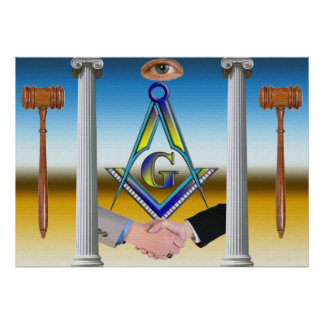 Masons. Brothers Poster