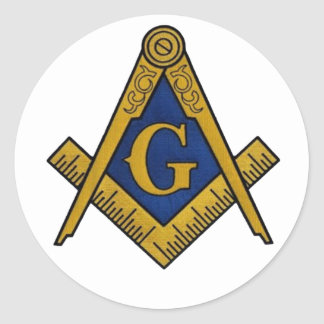 MASONS CLASSIC ROUND STICKERS
