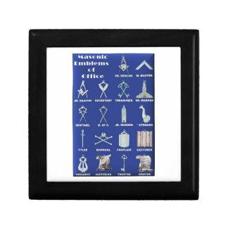 Masons Emblems of Office Gift Box