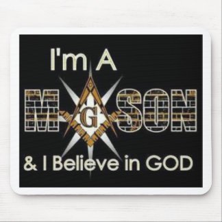 Masons God Mouse Pad