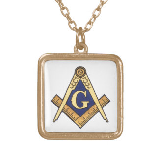 MASONS GOLD PLATED NECKLACE
