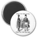 Masons Meeting 2 Inch Round Magnet