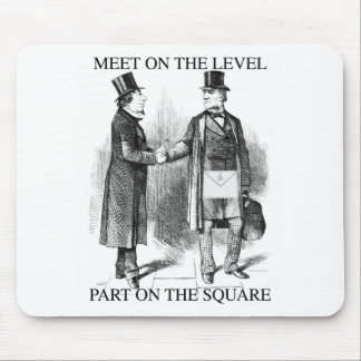 Masons Meeting Mouse Pad