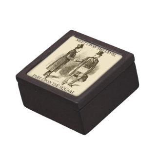 Masons Meeting On The Level Premium Trinket Box