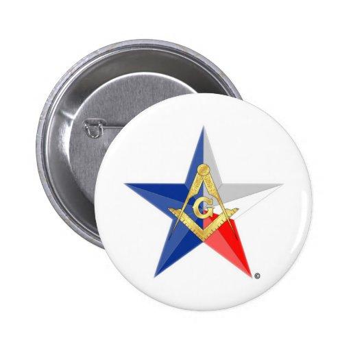"Masons of Texas ""Star Line"" Pin"