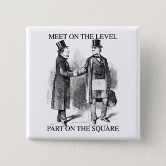 Masons parting on the square button