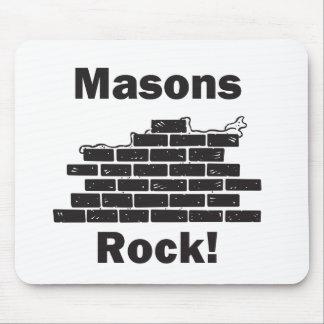 Masons Rock Mouse Pad