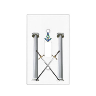 Masons Tyled Light switch cover. Light Switch Cover