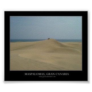 Maspalomas, Gran Canaria Poster