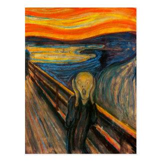 Masque la postal del grito