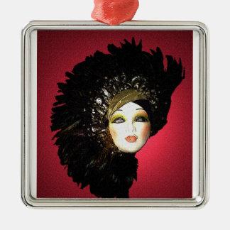 Masque Manifique Deluxe Christmas Ornament