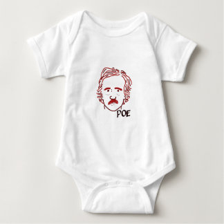 Masque of the Red Poe Baby Bodysuit